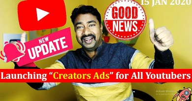 "Youtube BEST Upcoming New Feature ""Creator Ads Sale"" 5"