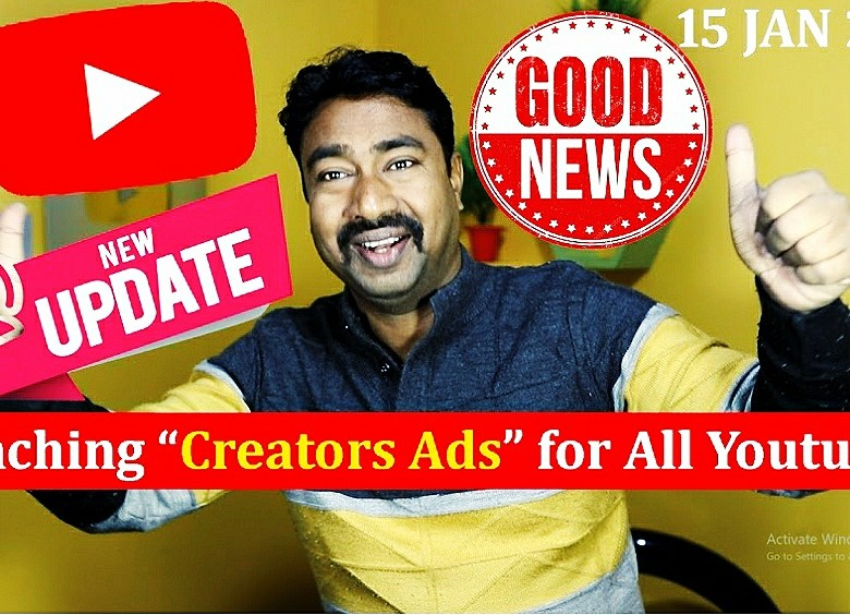 """Youtube BEST Upcoming New Feature """"Creator Ads Sale"""""""