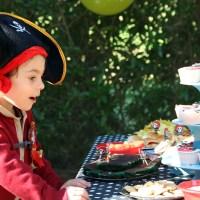 Una fiesta de piratas en el parque para celebrar los 4