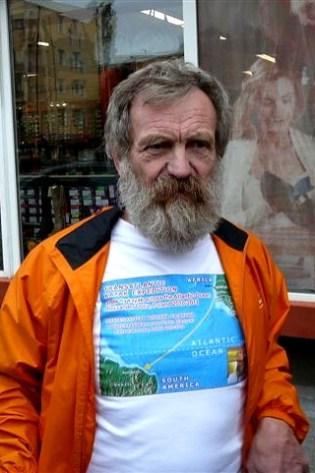 Atlantycki kajakarz Olek Doba