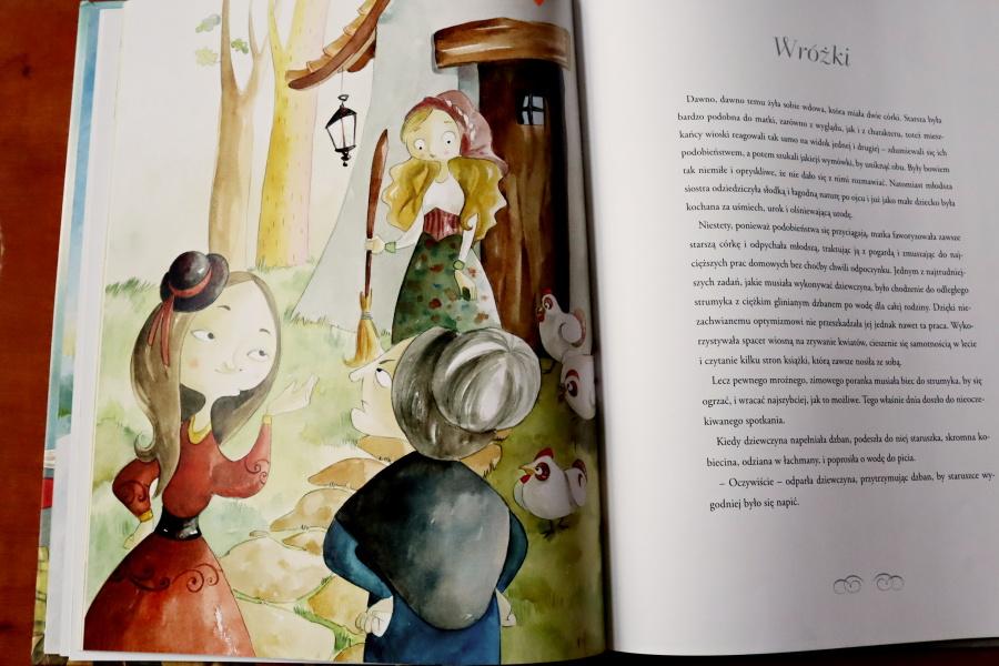 ilustracja z książki pt. Wróżki