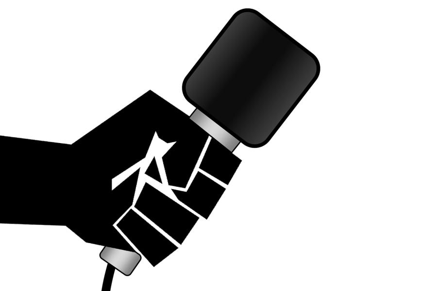 grafika przedstawiająca mikrofon