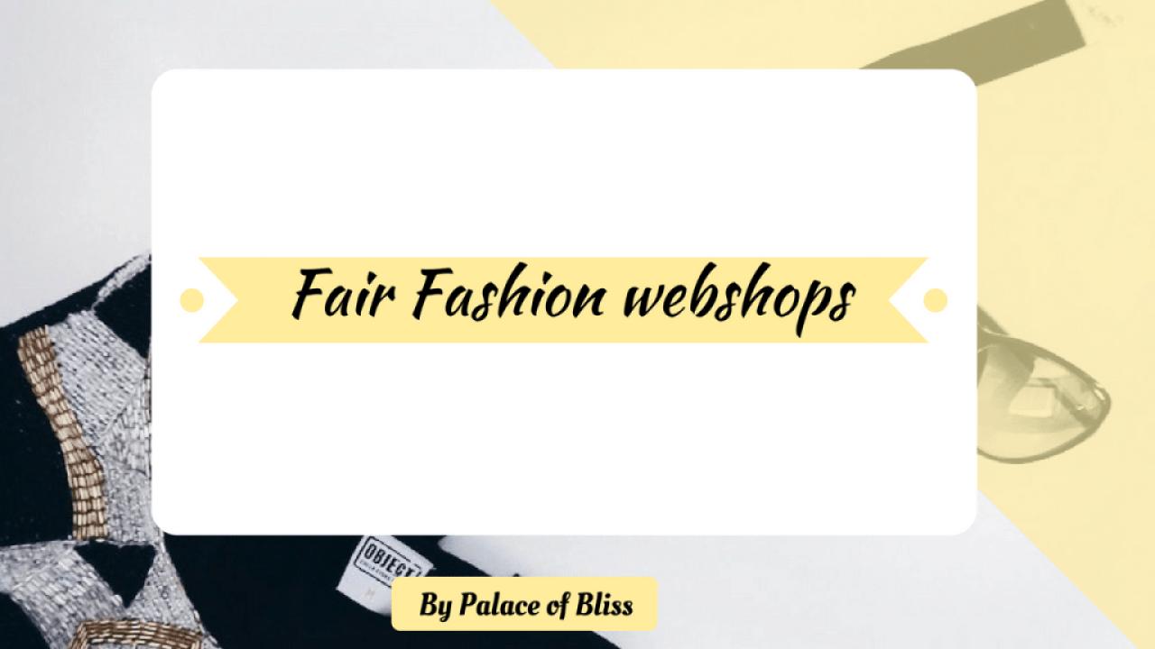 Op deze pagina vind je een overzicht van webshops die fair fashion, duurzame mode verkopen.