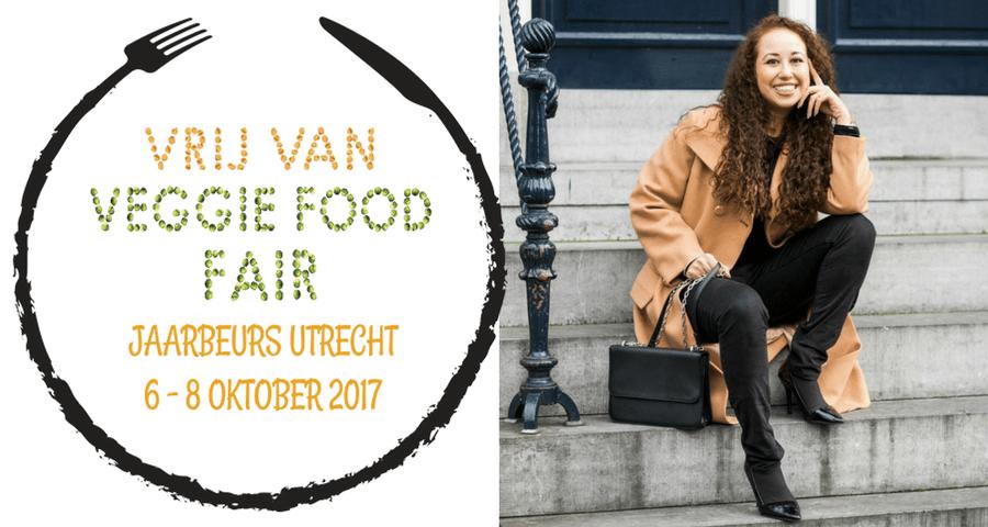 Van 6 tot 8 oktober 2017 vind de Vrij Van Veggie Food Fair plaats in utrecht. Op 7 oktober geeft Hailey Noa van Palace of Bliss een lezing over de Vegan Lifestyle.