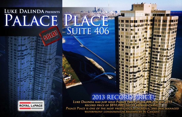 Palace Place 1 Palace Pier Court Suite 406 Sold by Luke Dalinda