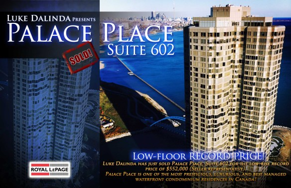 Palace Place 1 Palace Pier Court Suite 602 Sold by Luke Dalinda