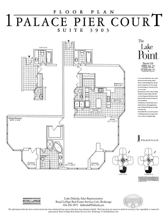 palace place 1 palace pier court suite 3903 floor plan