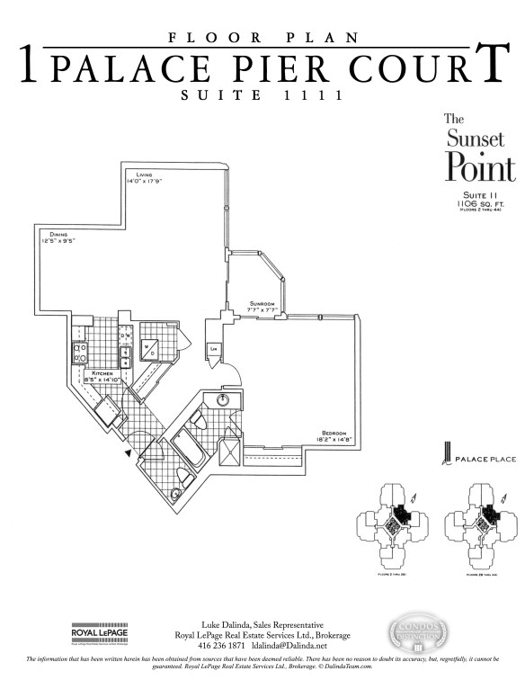 Palace Place 1 Palace Pier Court 1111 Floor Plan