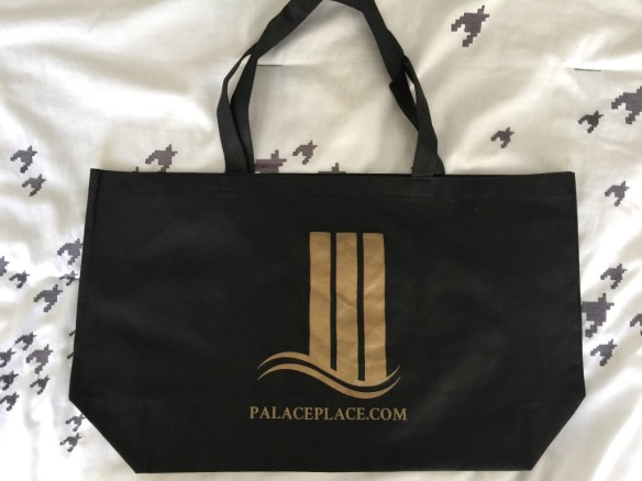 Palace Place swag bags