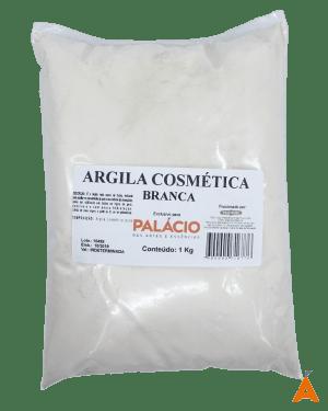 Argila Cosmética Branca - 1 Kg