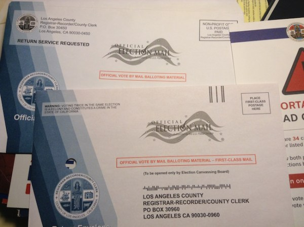 Vote by Mail Ballots