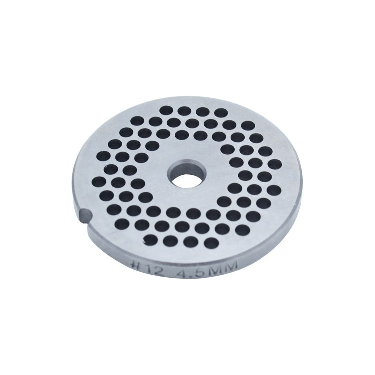 Paladin Equipment's #12 meat grinder includes a 4.5mm grinding plate.