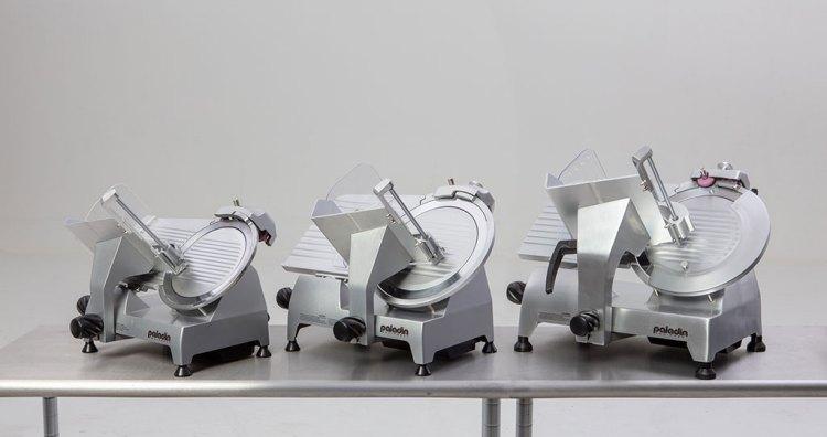 Paladin Equipment's line of commercial-grade food slicers.