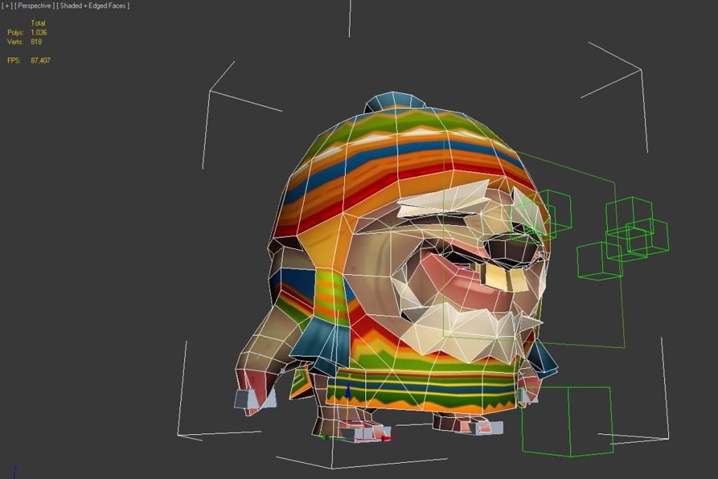The Anatomy of a 3D Game Character: Guaka The Mole