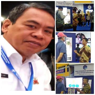 AH : Dinas Kominfo SP perkenalkan Berbagai Inovasi di Sulsel Expo