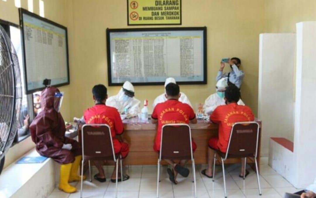 Tahanan Polda Kalteng Rapid Tes Dan Kehamilan