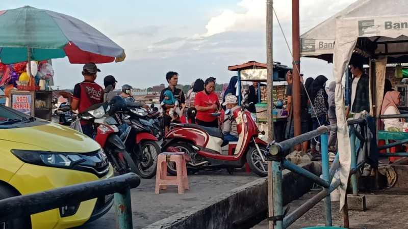 Pelabuhan Rambang Palangka Raya Mulai Ramai Di Kunjungi