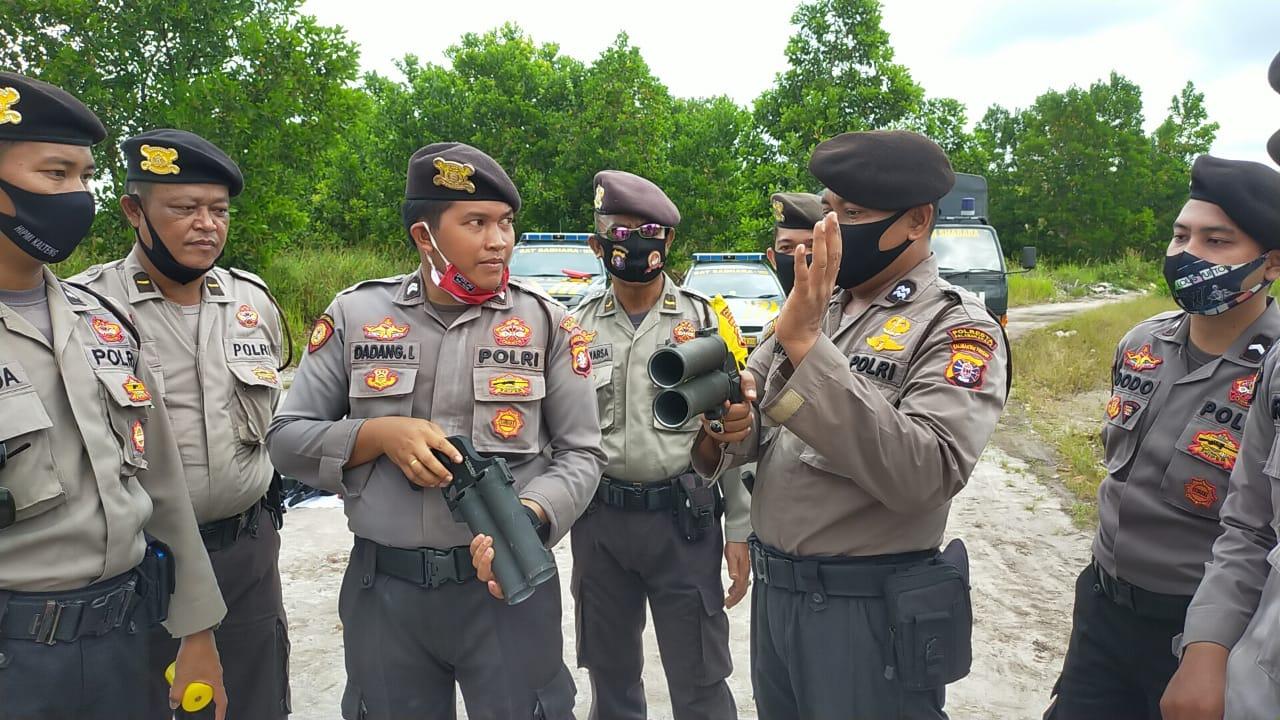 Tingkatkan Keterampilan Pasukan Dalmas, Sat Sabhara Latih Penggunaan Pelontar Gas Air Mata