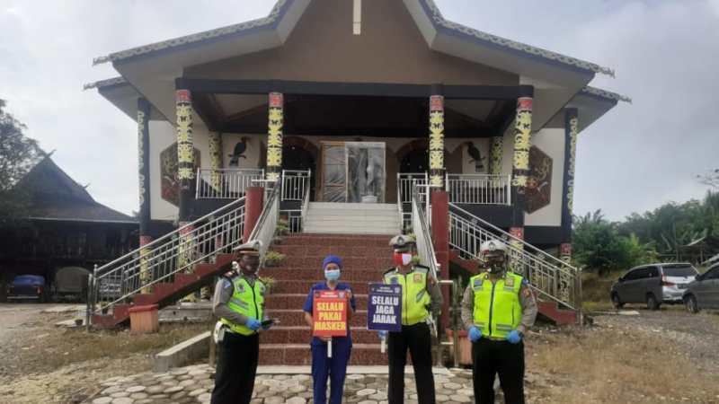 Monitoring Keamanan tempat Ibadah Oleh Personil Polres Lamandau