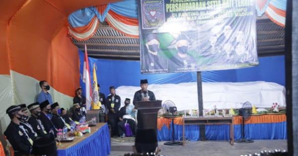 Bupati Adipati Hadiri Pengesahan Warga PSHT di Kampung Sidoarjo Kec. Umpu Semenguk