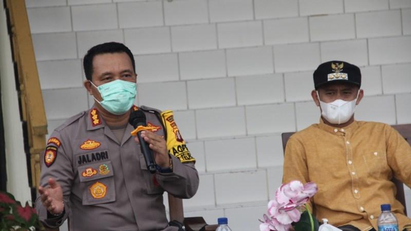 Kapolresta Palangka Raya Hadiri Kegiatan Launching Surat Edaran Walikota