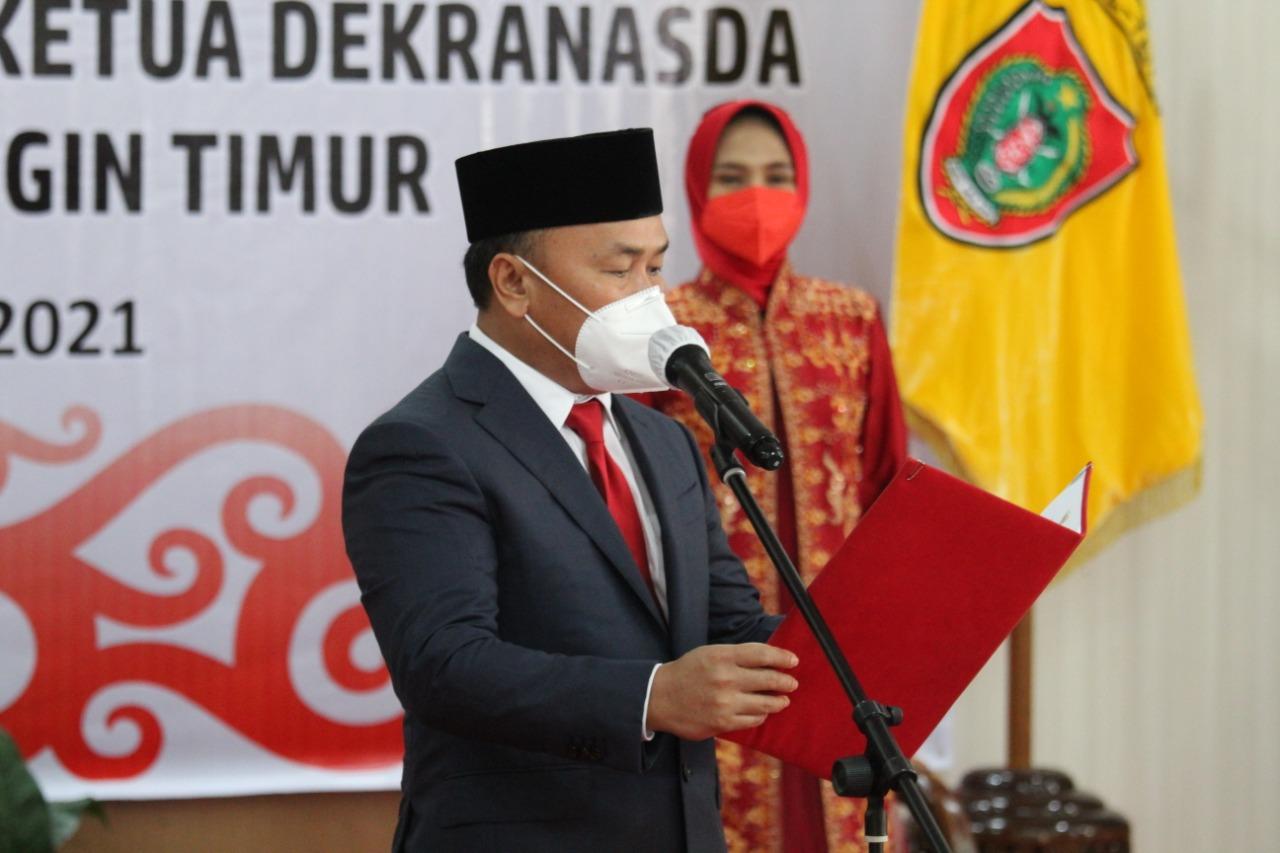 Gubernur Kalteng, Melantik Bupati dan Wakil Bupati Kotawaringin Timur Periode 2021-2024
