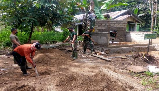 2 Unit Pos Kamling Program TMMD Ke-110 Dipastikan Cepat Rampung