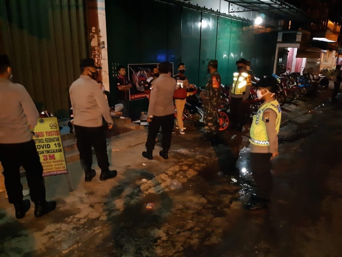 Sinergi TNI Polri Dalam Operasi Yustisi PPKM Mikro