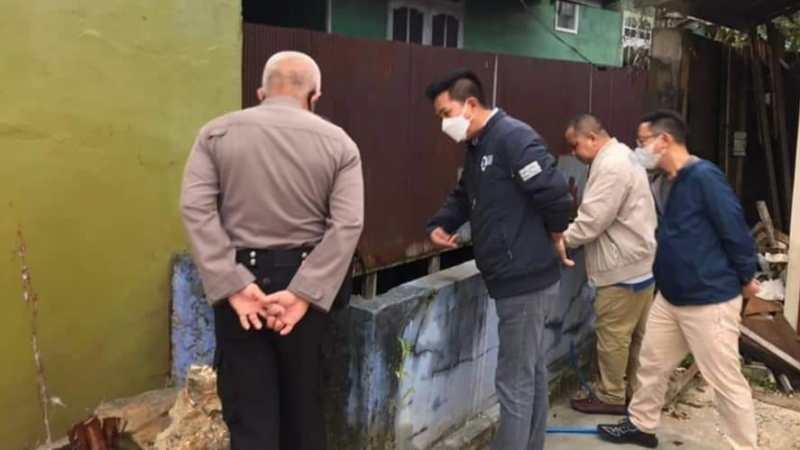 Bupati Barito Utara, H. Nadalsyah : Alhamdulillah Sudah Tidak Ada Genangan Air