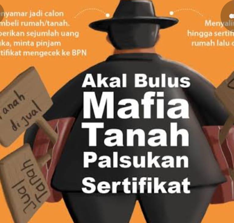 Sikat!! Diduga Mafia Tanah Jangan Kasih Kendor, Saling Lapor
