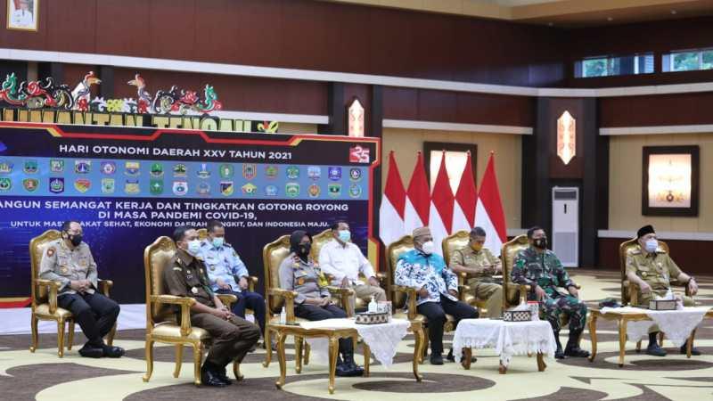 Peringatan Hari Otonomi Daerah XXV Tahun 2021, Hadir Wakil Gubernur