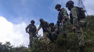 TNI-Polri Tembak Mati Dua Orang Teroris OPM Satu Terluka Melarikan Diri.
