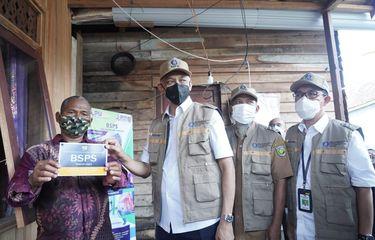750 Unit RTLH Bantuan Stimulan Perumahan Swadaya (BSPS) di Kalimantan Tengah.