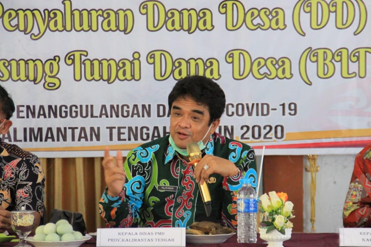 Lomba Desa dan Kelurahan Tingkat Provinsi Kalteng Tahun 2021,Ini Kata H. Rojikinnor