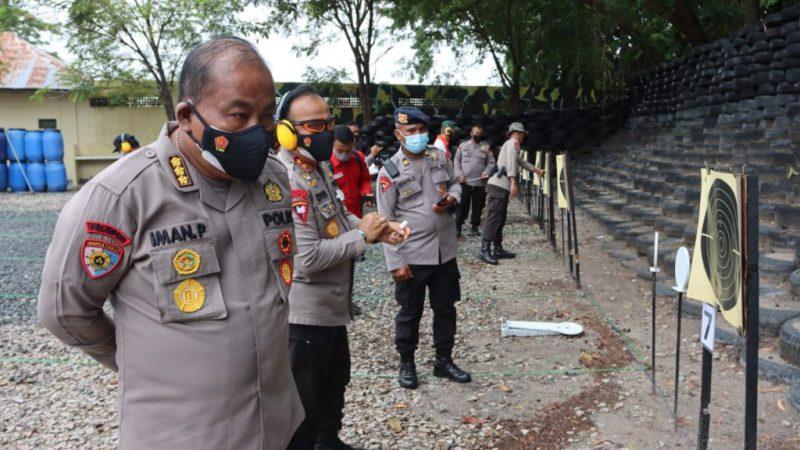 Gelar Kejuaraan Menembak Forkopimda Provinsi Kalteng, Peringati HUT  Bhayangkara Ke 75.