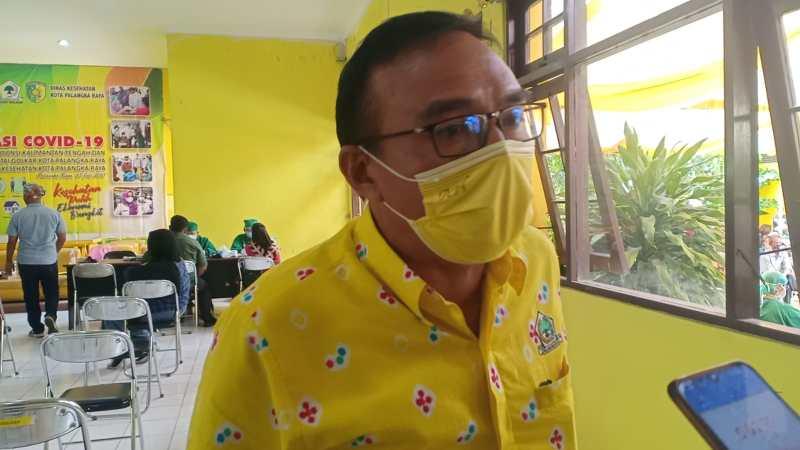 DPD Golkar Provinsi Kalteng Dan Kota Palangka Raya , Ajak Masyarakat Suntik Vaksin Massal.