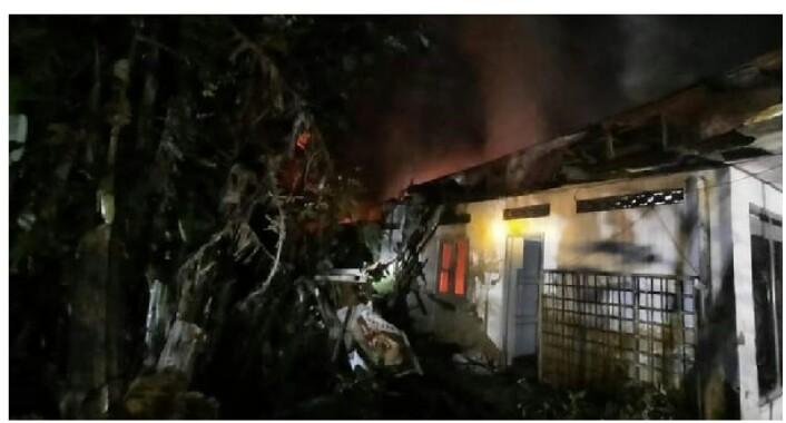 Gegara Gas LPG Bocor, Satu Rumah di Pati Terbakar