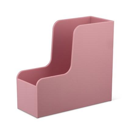 Lehtikotelo, vaaleanpunainen