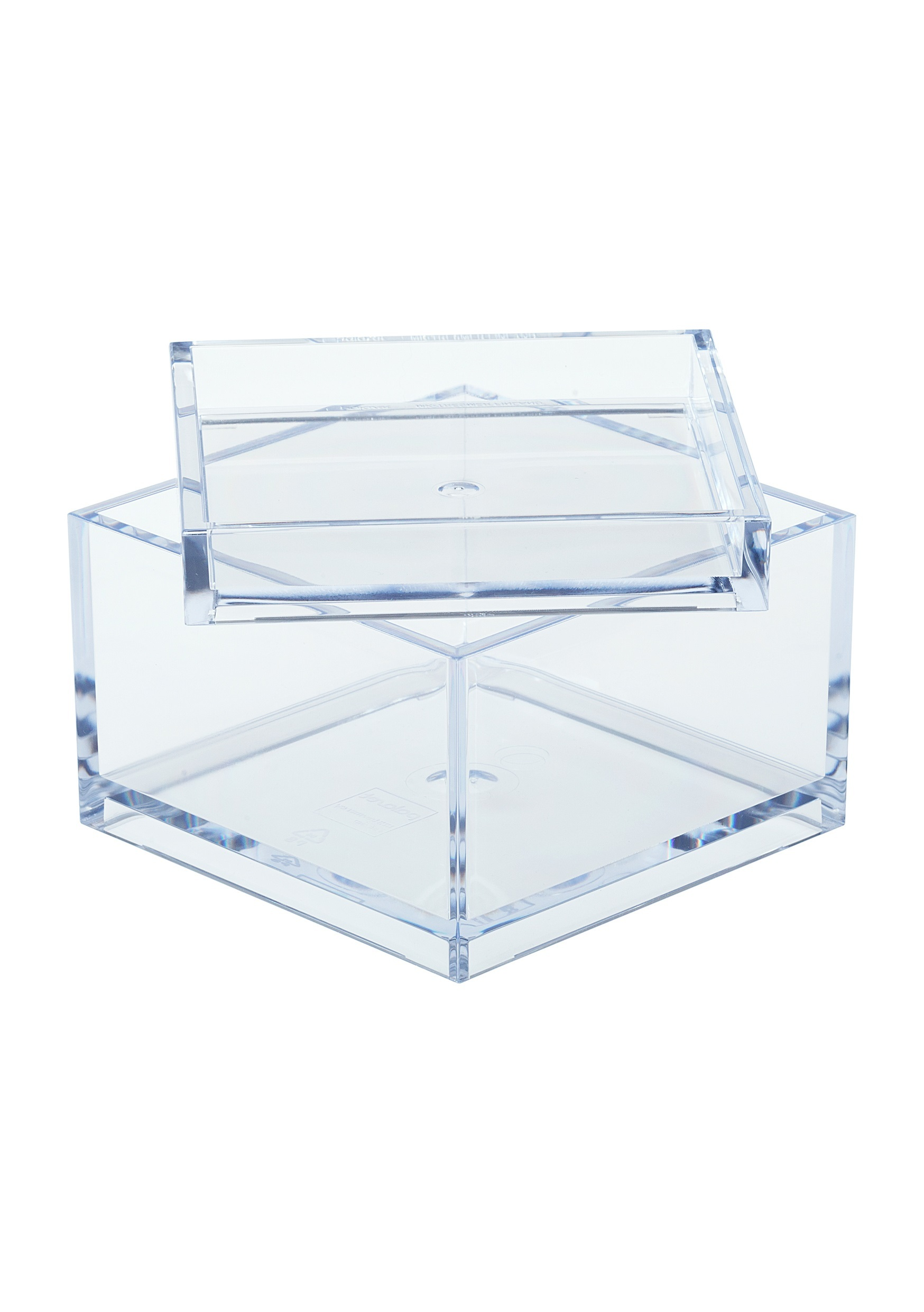 M_box with lid_tray clear