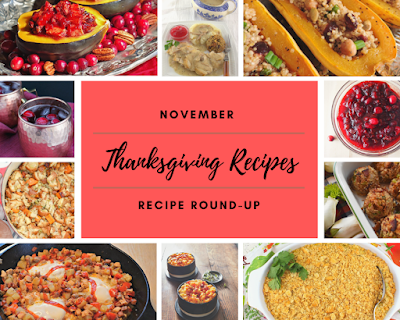 November 2019 Recipe Round-Up: Thanksgiving Recipes