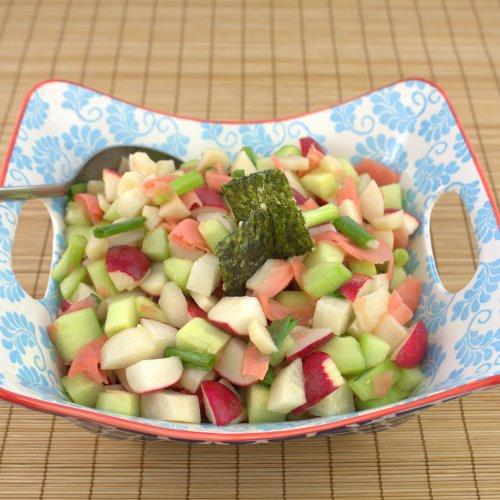 Crisp Radish Salad
