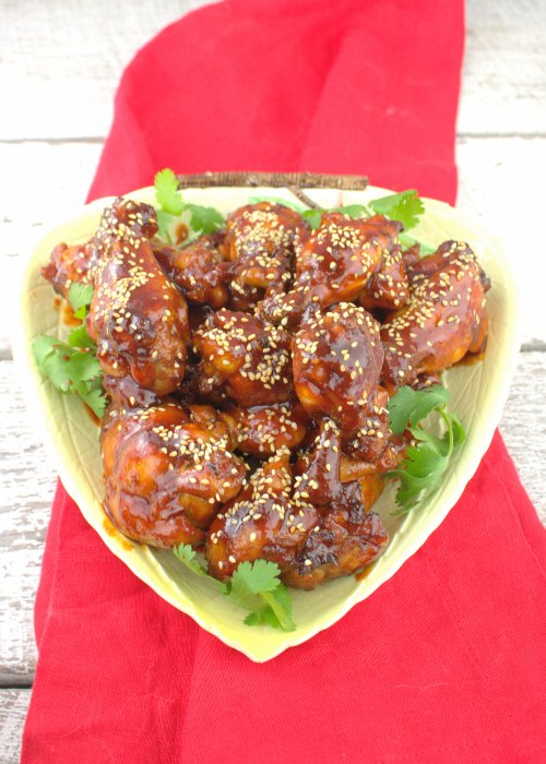 Spicy Korean Chicken Wings