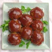 Easy Meatloaf Meatballs