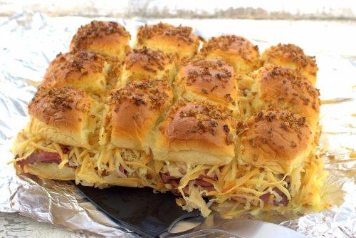 Pastrami Reuben Sliders