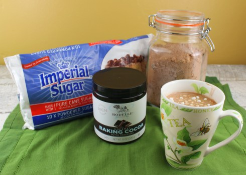 Homemade Hot Chocolate Mix with product