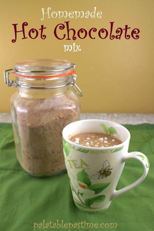 Homemade Hot ChocolateMix
