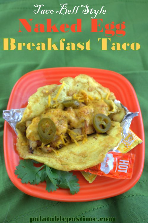 Naked Egg Breakfast Tacos