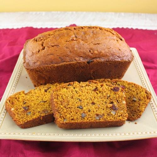 Old-Fashioned Pumpkin Bread