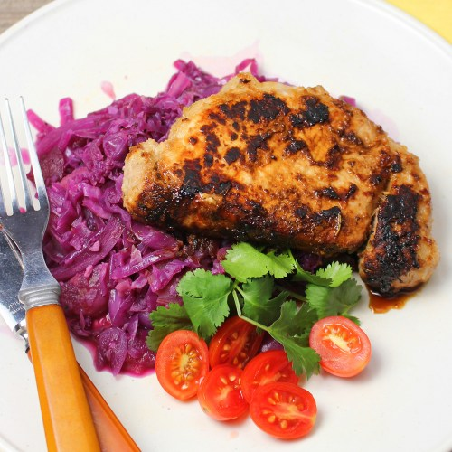 Easy Beer Marinated Skillet Chops