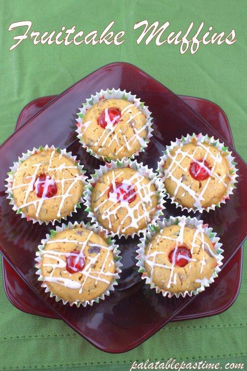 Fruitcake Muffins